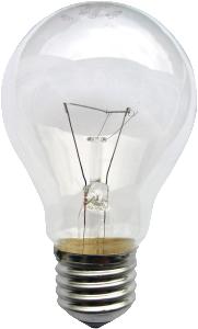 Figure 1: Incandescent Lightbulb.