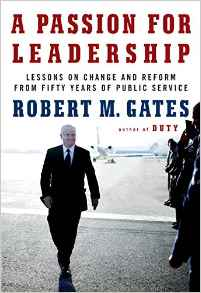 Figure 1: Cover of Gate's A Passion for Leadership.