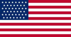 Figure 1: US Flag with 45 Stars.
