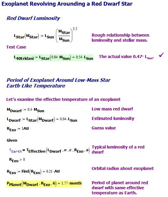 Figure 2: Exoplanet Period Calculation.