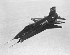 Figure 1: North American X-15 Hypersonic Rocket-Powered Aircraft.
