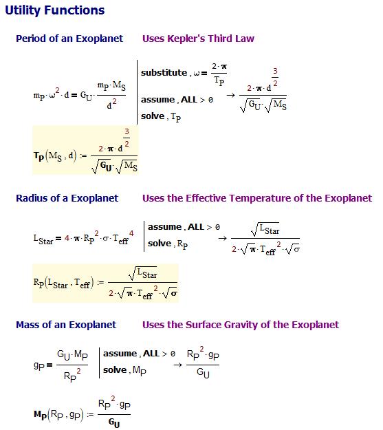 Figure 3: Utility Functions.