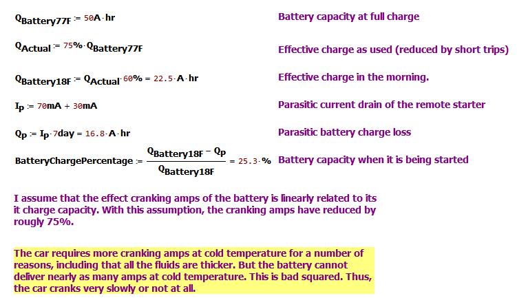 Figure 5: Battery Capacity Analysis