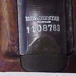Figure 2: Serial Number on Audie Murphy's M1 Carbine.