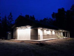 Figure 2: My Garage at Night.