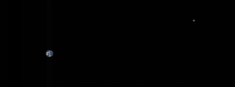 Figure 1: Earth-Moon System.
