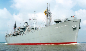 Figure 1: Photograph of the USS John W. Brown, one of three Liberty Ships serving as museums.